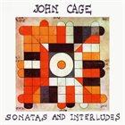 JOHN CAGE Sonatas And Interludes album cover
