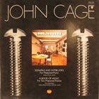 JOHN CAGE Sonatas And Interludes / A Book Of Music album cover