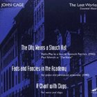 JOHN CAGE The Lost Works album cover