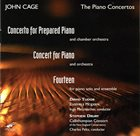 JOHN CAGE The Piano Concertos album cover