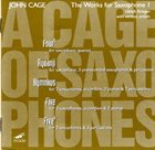 JOHN CAGE The Works For Saxophone 1 album cover