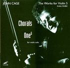 JOHN CAGE The Works For Violin 5 album cover