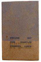 JOHN CHANTLER John Chantler & Johannes Lunds : Endless Sky album cover