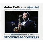 JOHN COLTRANE Complete November 19 1962 (Stockholm Concerts) album cover
