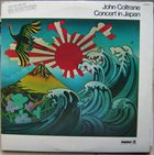 JOHN COLTRANE Concert In Japan album cover
