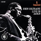 JOHN COLTRANE Live in Japan album cover