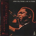 JOHN COLTRANE Live In Paris (aka Live In Antibes, 1965) album cover