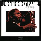 JOHN COLTRANE Live In Paris, Part 1 album cover