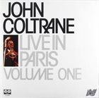 JOHN COLTRANE Live In Paris Volume One album cover