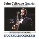 JOHN COLTRANE The Complete November 19, 1962 Stockholm Concerts album cover