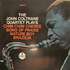 JOHN COLTRANE The John Coltrane Quartet Plays album cover