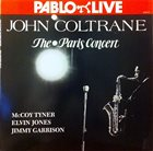 JOHN COLTRANE The Paris Concert album cover