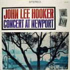 JOHN LEE HOOKER Concert At Newport album cover