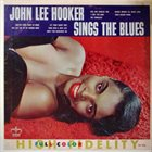 JOHN LEE HOOKER John Lee Hooker Sings The Blues (aka Driftin' Thru The Blues aka Folk Blues aka John Lee Hooker) album cover