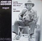 JOHN LEE HOOKER Live+Well album cover
