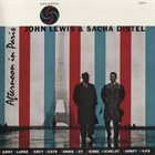 JOHN LEWIS Afternoon In Paris (with Sacha Distel) album cover