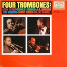 JOHN LEWIS John Lewis / Charlie Mingus / J.J. Johnson / Kai Winding / Benny Green / Willie Dennis ‎: Four Trombones, Volume 2 album cover