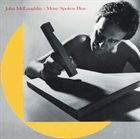 JOHN MCLAUGHLIN Music Spoken Here album cover
