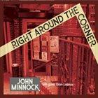 JOHN MINNOCK Right Around the Corner album cover
