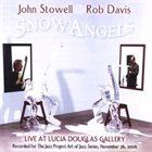 JOHN STOWELL John Stowell and Rob Davis : Snow Angels album cover