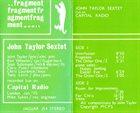 JOHN TAYLOR Fragment album cover