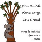 JOHN TCHICAI Hope Is Bright Green Up North album cover
