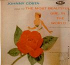 JOHNNY COSTA The Most Beautiful Girl in the World album cover