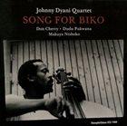 JOHNNY DYANI Song For Biko album cover