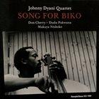 JOHNNY DYANI Johnny Dyani Quartet : Song For Biko album cover