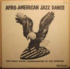 JOHNNY FRIGO Afro-American Jazz Dance album cover