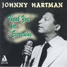 JOHNNY HARTMAN Thank You For Everything album cover