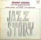 JOHNNY HODGES Jazz Story album cover