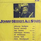JOHNNY HODGES Johnny Hodges Allstars album cover