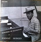 JOHNNY HODGES Memories of Ellington (aka In A Mellow Tone) album cover