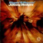 JOHNNY HODGES Rippin' & Runnin' album cover