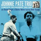 JOHNNY PATE Complete Recordings 1955-1956 album cover