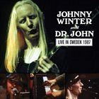 JOHNNY WINTER Johnny Winter With Dr. John : Live In Sweden 1987 album cover