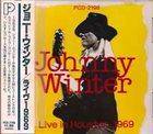 JOHNNY WINTER Live In Houston, 1969 album cover