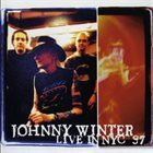 JOHNNY WINTER Live IN NYC 97 album cover