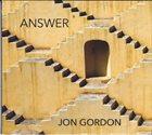 JON GORDON Answer album cover