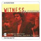 JON GORDON Witness album cover