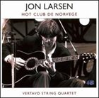 JON LARSEN Vertavo Live in Concert (Hot Club De Norvege) album cover