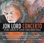JON LORD Concerto For Group And Orchestra album cover