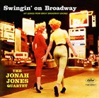 JONAH JONES Swingin' on Broadway album cover