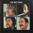 JONAS KULLHAMMAR Jonas Kullhammar Quartet : Låt Det Vara album cover