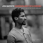 JONATHAN BATISTE Chronology Of A Dream : Live At The Village Vanguard album cover