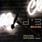 JORGE PARDO D'3: Directo album cover