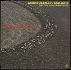JOSEPH JARMAN Joseph Jarman - Don Moye : Earth Passage - Density album cover