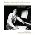 JOVINO SANTOS NETO Por Causa de Voce (Because of You) album cover