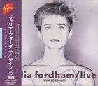 JULIA FORDHAM Live album cover